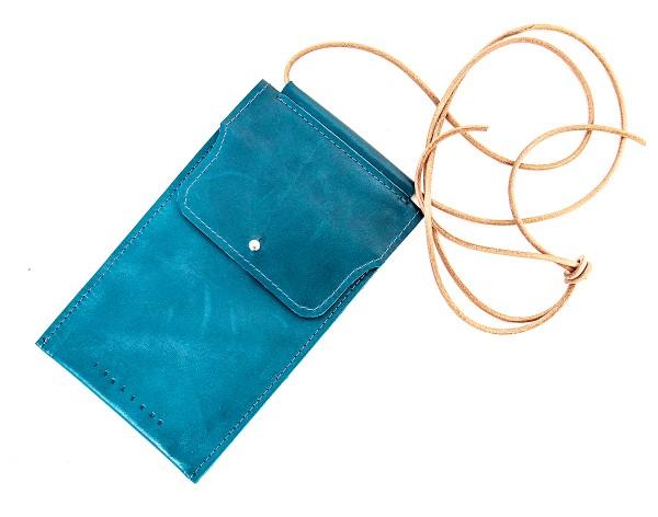 Handy-Tasche dunkelgrün