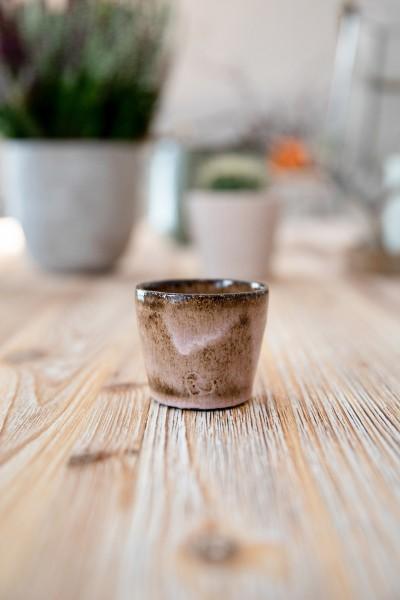 Espressobecher braun/klein